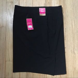 Candie's Black Pencil Skirt NWT